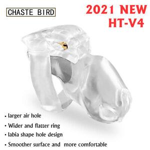 New Male V4 Chastity Device Set Keuschheitsgurtel Magic Lock Cage Ring Belt