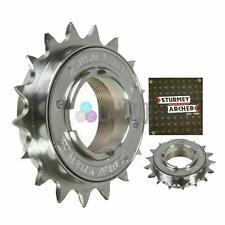 """Sturmey Archer Single Speed Freewheel Cog Chrome 1/2""""x 3/32"""" & 1/8"""", 21T - Wide"""