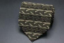 XMI Silk Tie. Brown Camolauge Pattern.