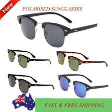 New Polarized Free Postage Mens Womens Vintage Sunglasses Clubmaster Fashion AU