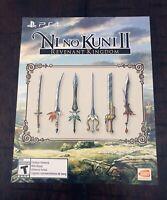 Ni No Kuni II 2: Revenant Kingdom Collector's Edition Special Sword Set DLC PS4