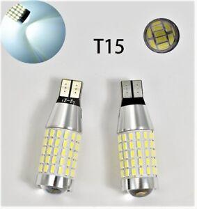 T10 T15 194 168 2825 175 12961 Reverse Backup Light 6K White 87 Canbus LED M1 AR