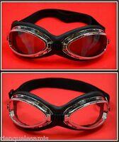 Pack 2 Paar Brille Sonne [T-06 B+C ] Motorrad Solex Motorradfahrer Ski Snowboard