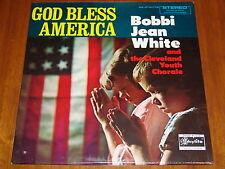 BOBBI JEAN WHITE - GOD BLESS AMERICA - RARE 1966? STILL SEALED LP ! ! ! !