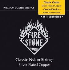 Fire & Stone cuerdas para música clásica-guitarra-Classic String set-standard tension