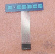 Neu 1x6 Key Matrix Membrane Switch Bedientastatur Keyboard Super Slim Mit LED DE