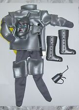 """1/6 SCALE 12"""" MALE FASHION DOLL WIZARD OF OZ TIN MAN COSTUME WITH MASK"""
