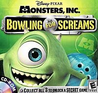 Monsters, Inc.: Bowling for Screams PC Game- Brand New Sealed Fast Ship OVA90