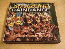 2-CD BOX / AMAZONE RAINDANCE - THE ULTIMATE AMBIENT DANCE HITS