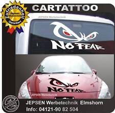 No Fear CARTATTOO Autoaufkleber 50x27 cm M3 Hardcore für Motorhaube Heckscheibe