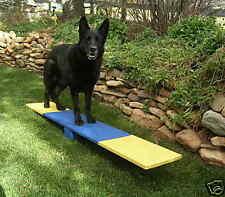 Dog Agility Mini Puppy Teeter / See Saw / Wobble Board