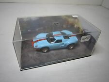 AD343 FABBRI UH JAMES BOND 007 FORD GT40 N° 52 1/43 DIE ANOTHER DAY