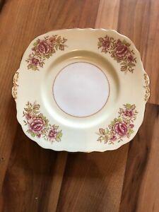 Beautiful Colclough Rose Covered Cake Plate