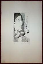 Claude Raimbourg Gravure originale signée numérotée surréalisme