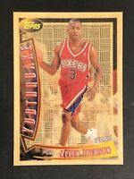 1996 Topps Youthquake Allen Iverson ROOKIE RC #YQ1 POSSIBLE GEM MINT! PSA READY!