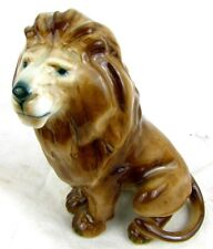 ZOLNAY LION FIGURE *NATURAL COLORATION* ANTIQUE NICE!