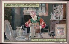 16th Century Flanders Tin Worker Artist Stagno Fiandra 1905 Trade Ad  Card