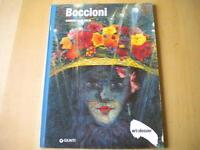BoccioniDi Milia GabriellaGiunti2008 Libro futurismo arte dossier133 Nuovo