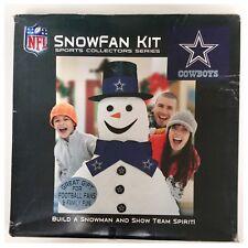 Dallas Cowboys NFL American Football Christmas Build A Snowman Kit