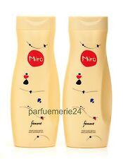 MiRO Femme Perfumed Bath And Shower Gel 400 Ml