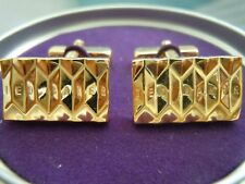 Ted Baker Textured Gold Cufflinks in Gift Box NWT