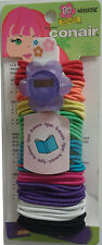 Conair Small Ponytail Holders 60 Pc - Mixed Colors