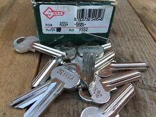 PACK OF 10 special steel alloy ASSA ASS2 560N Silca key blanks cut LOCKSMITH