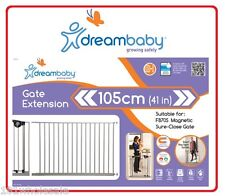 ❤ F877S DREAM BABY Dreambaby Child Baby Pet Safety 105cm Extension F870S Gate ❤