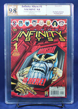Infinity Abyss #1 PGX (not CGC) 9.8 NM/MT signed Jim Starlin!!!