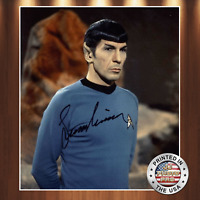 Leonard Nimoy  Autographed Signed 8x10 High Quality Premium Photo REPRINT