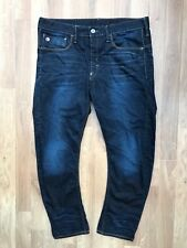 G-STAR RAW GSTAR LOOSE TAPERED FIT JEANS PANT W36 L32 BLUE G-STAR NAVY