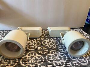 WAC Lighting LHT-808-WT L Series Low Voltage Track Head 50W White L-Track Lot 2