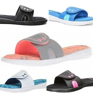 Under Armour Ignite VIII Slide Sandal 5-COLORS (Women's Size 12) NWT MSRP $32-35