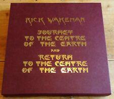 Rick Wakeman Journey & Return to Center of Earth Vinyl Boxset + Signed Etching