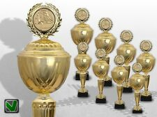 8er Pokalserie XXL GOLDEN SUPREME Pokale gold mit Gravur günstige Pokale kaufen