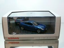 NISSAN MODEL CAR COLLECTION SKYLINE COUPE - BLUE 1:43 - MINT CONDITION IN BOX
