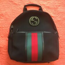 Vintage Gucci Unisex Backpack Made In Italy