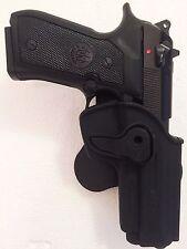 Beretta 92FS Paddle Belt Holster Fit 92 92F 92FS 96 & PT92 RH Polymer Black