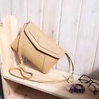 Womens Leather Small Handbag Satchel Shoulder Envelope Messenger Cross Body Bag