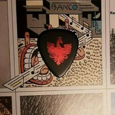 QUEEN Brian May red foil guitar pick
