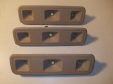 3x OEM GM CHEVY GMC EXPRESS SAVANA VAN REAR CARGO LED DOME LIGHTS TAN NEUTRAL