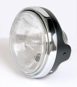 Prisms Headlight H4 Black Moto Guzzi California Mille Gt Black Headlight