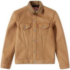 Junya Watanabe x Levi's Wool Camel Cashmere Trucker sz Medium M New NWT sold out