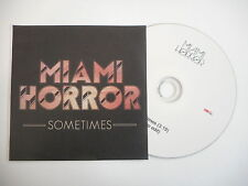 MIAMI HORROR : SOMETIMES ( RADIO EDIT ) [ CD SINGLE ] ~ PORT GRATUIT