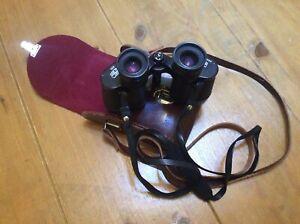 Vintage Carl Zeiss, DDR, Jena, Jenoptem, 8x30w, Multi Coated Binoculars + Case.