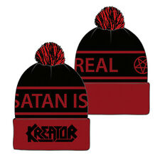 KREATOR - Logo Satan Is Real Hockey Beanie Mütze