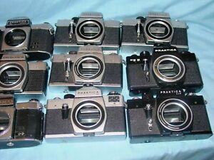 PRAKTICA   Kameras  für Sammler oder  für Bastler !!!