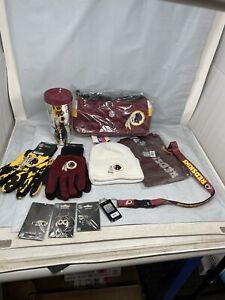 Washington Redskins Womens Gift Bundle Purse, Hat, Gloves, Tumbler & More!