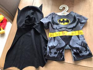 Build A Bear Workshop Batman Outfit