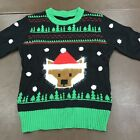 Ugly Christmas Sweater Fuzzy Bear NWOT One Size Fits All